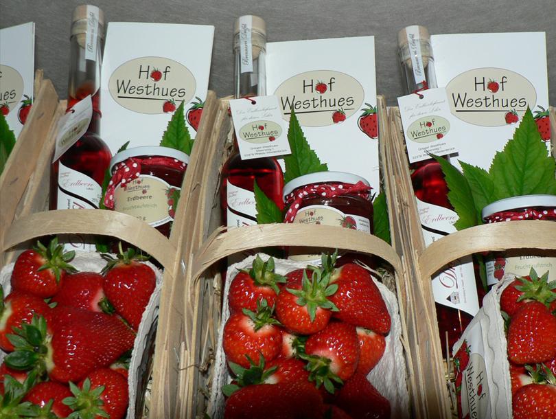 Erdbeerkorb Hof Westhues